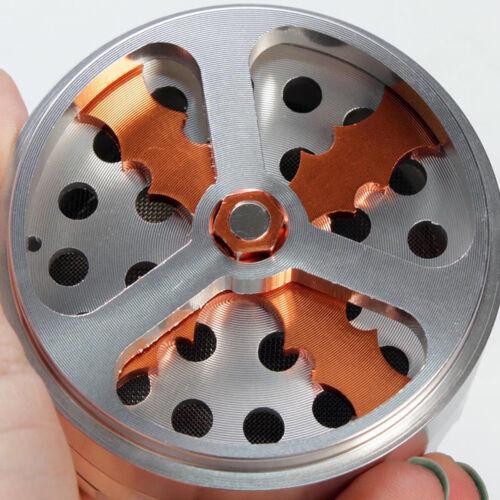 noir ou argent SNICE-Hélice-aluminium grinder 4 pièces Ø 62 mm