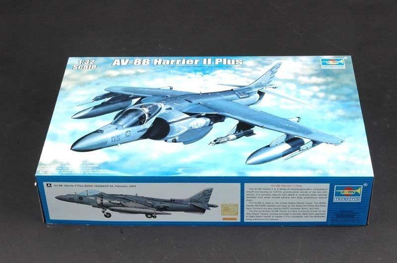 Trumpeter 1 32 02286 AV-8B Harrier II Plus