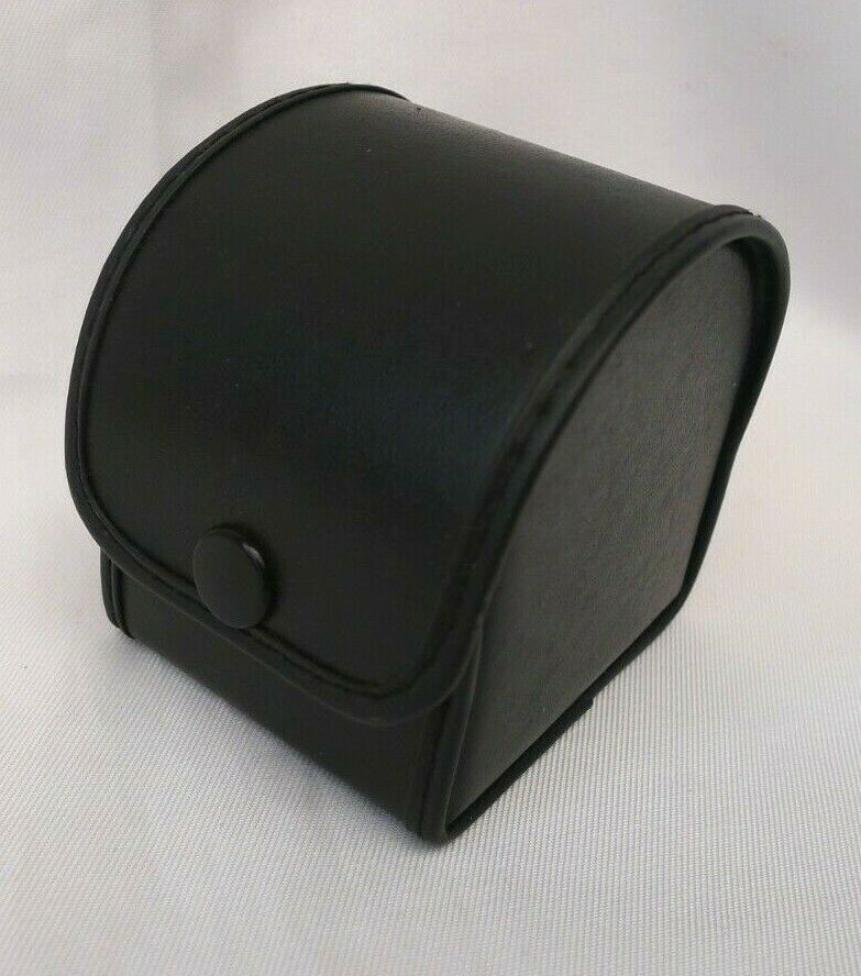 Vintage Photography Small Hard Leatherette Camera Lens Case Made in Japan