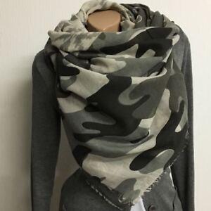 Professionel offiziell immer beliebt Details zu XXL Blogger Tuch Schal Halstuch STAR Sterne Herz Camouflage  Baumwolle Neu 1936