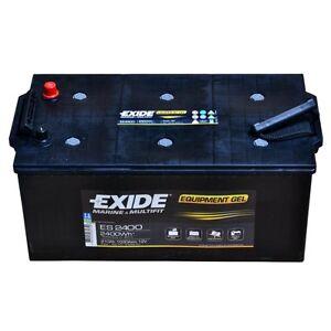 Exide Equipment ES2400 12V 210AH Starter Battery En (A): 460 Navy Boat Caravan