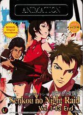 Senkou no Night Raid DVD (Vol. 1~13 End + Soundtrack) Anime English Sub Region 0