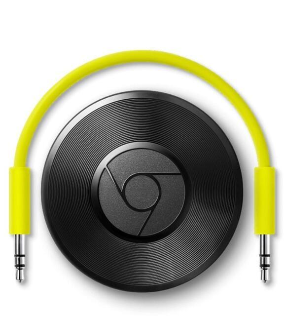 Google Chromecast Audio, Schwarz