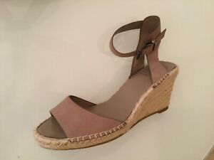 bafee529ee9 Details about Vince Camuto Women's Leera Espadrille Wedge Sandal Taupe $150  NWT Sz 10