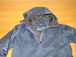 "NWT Woman's Helly Hansen ""Helly Tech"" Blanche Pimaloft Parka (Retail $325.00)"