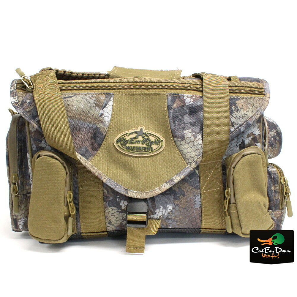 Nuevo Rig 'Em Right Bolsa Ciega de aves acuáticas Shell Shocker Xlt Optifade Camuflaje De Madera
