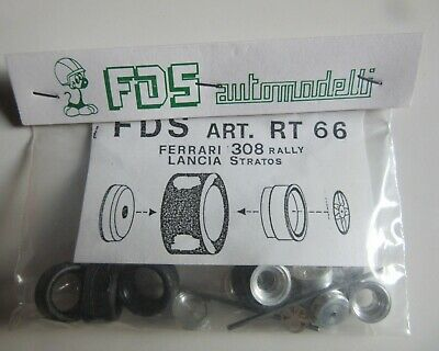 FDS RT 69  PARTS for 1//43 Models Wheels Axle Tires FERRARI 308 Rally 1980