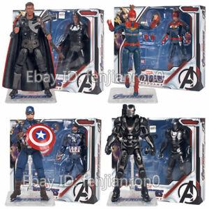 The-Avengers-4-Endgame-7-039-039-Captain-America-Marvel-Thor-War-Machine-Action-Figure