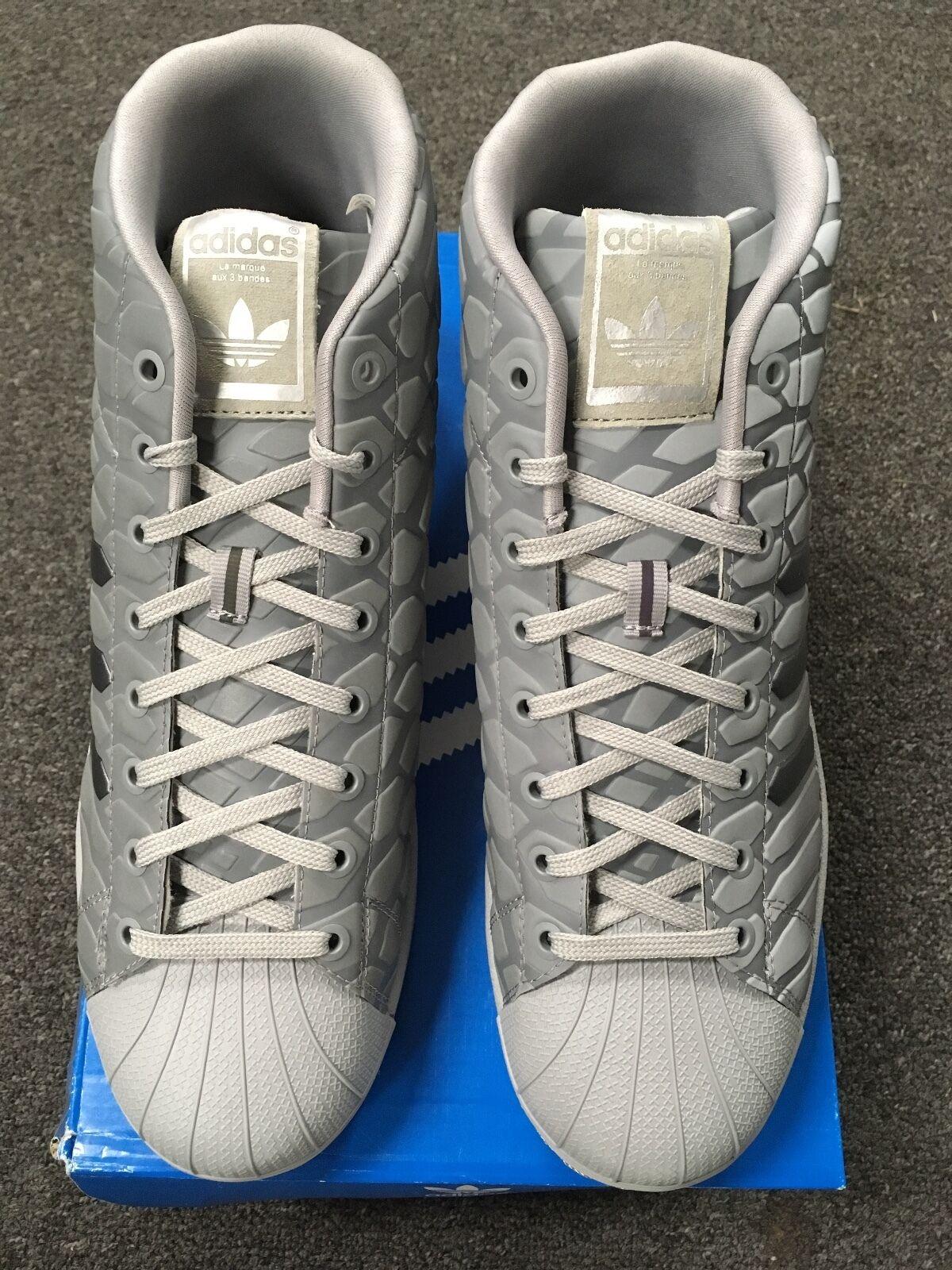 neue adidas pro die model shell die pro turnschuhe (grau) 3c35a2