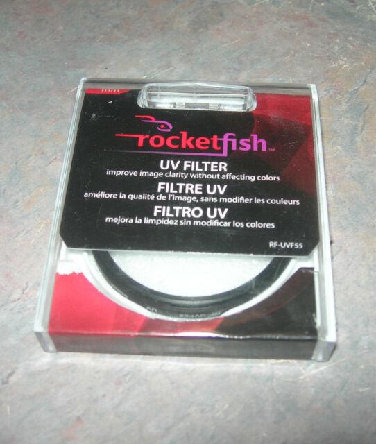 Rocketfish 55mm Circular UV Filter RF-UVF55
