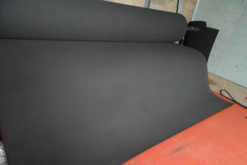 NEOPRENE  FOAM CLOSED CELL SHEET 1250 MM X 5 MM BY THE METER FREE POST