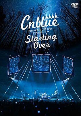 CNBLUE Japan Tour [2017 ARENA LIVE TOUR ~Starting Over~ @YOKOHAMA ARENA] DVD