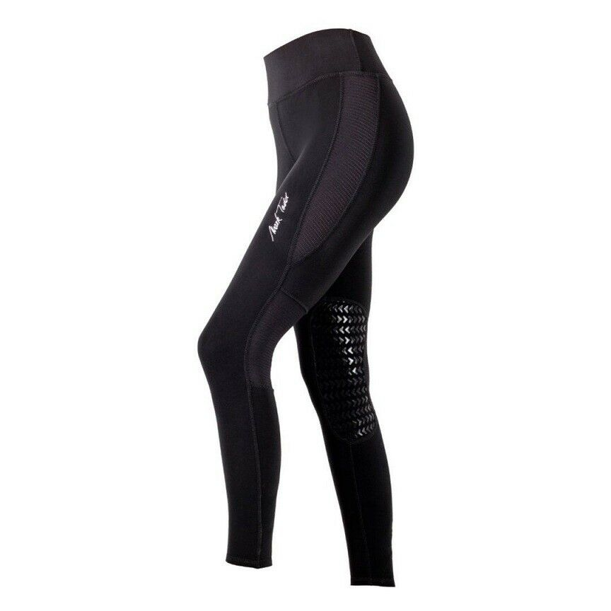 Mark Todd Riding Leggings. Blk Nvy. Silicon knee grip vent panels, super comfort