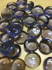 Sm CYBER PURPLE Glass Gems, Pebbles, Marbles Mosaic Tiles