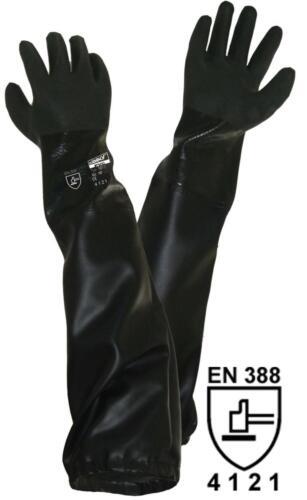 Sandstrahlen Strahlmittel, Teich 70cm Teichpflege Strahler-Handschuhe ca