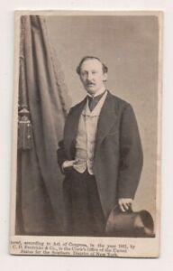 Vintage-CDV-William-Reynolds-Victorian-Era-Stage-Actor-Charles-D-Fredricks-Phot