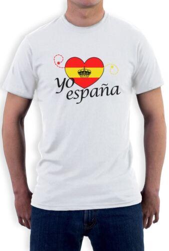 yo espana T-Shirt Spain world cup football soccer 2014
