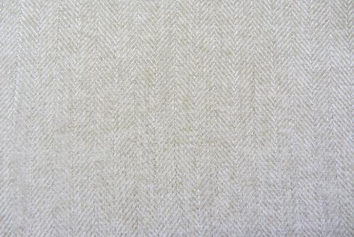 Argyle Oatmeal Herringbone or Tweed Wool Type Curtain //Upholstery Fabric FR