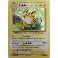 Click here for more details on Pokemon Raichu 36/108 Holo-...