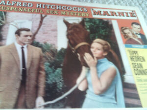 Marnie 1964 Alfred Hitchcock noi ORIG 11x14 LOBBY CARD Sean Connery Tippi Hedren