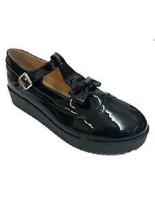NEW-WOMENS-LADIES-FLAT-CASUAL-SMART-WORK-PUMP-BUCKLE-STRAP-SHOES