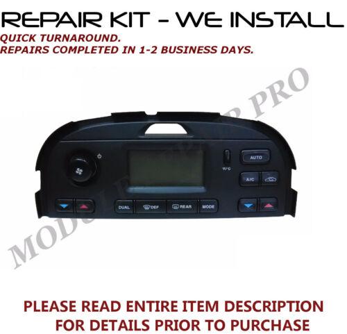 REPAIR KIT for 03 04 05 06 07 08 Jaguar S-Type A//C HEATER CLIMATE CONTROL EATC