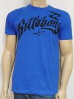 Billabong Motivation Tee Mens Royal Blue 100% Cotton T-shirt