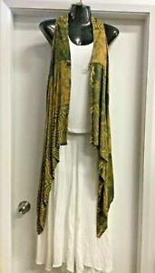 New-Ladies-Sarong-Top-Jacket-Fit-10-to-16