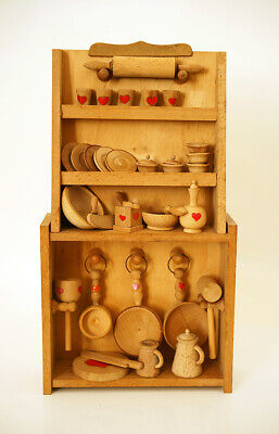 Credenza Sevi Anni 70 In Legno Casa Per Bambole Vintage Furniture For Doll House Irrestringibile
