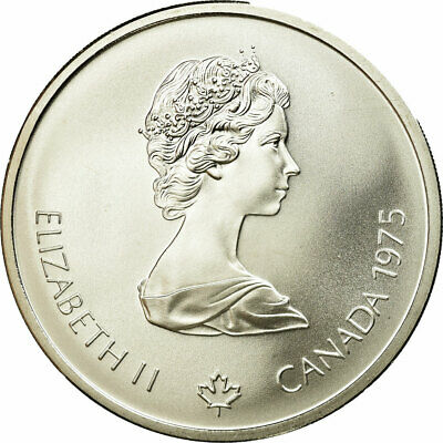 Elizabeth Ii #687634 Royal Canadian Mint Canada 10 Dollars Coin 1975