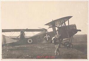 REGIA AERONAUTICA Ia GUERRA MONDIALE PILOTA CON AEREO 1915-1918