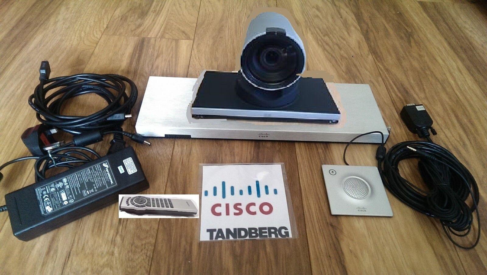 Cisco C20 Tandberg Telepresence TTC7-18 HD Video Conferencing complete System