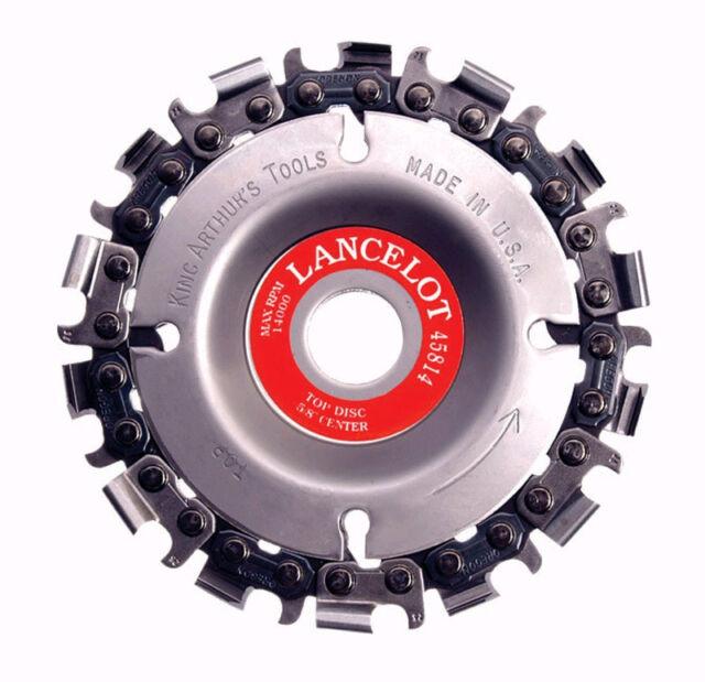 "King Arthur 45814 Lancelot 4"" 14 Tooth Chain Carver NEW!"