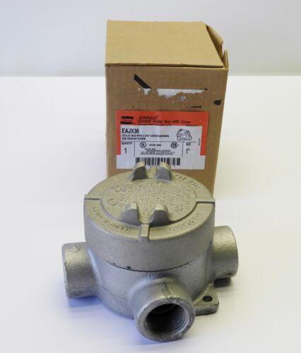 """Crouse-Hinds EAJX36 3//4/"""" Conduit Outlet Box For Hazardous Locations"""