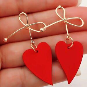 Irregular-Bow-Acrylic-Drop-Earrings-Stud-Earrings-Jewelry-Dangle-Earrings