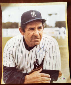 Yogi-Berra-Psa-Dna-Coa-Autograph-20x24-Photo-Hand-Signed-Authentic