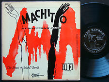 CHARLIE PARKER MACHITO Afro-Cuban Jazz CHICO O´FARRILL LP CLEF MONO Buddy Rich