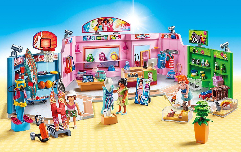 Playmobil City Kommerzielle life 9078. Kinderwagen Kommerzielle City mit drei Geschäfte. Mehr als e2b363