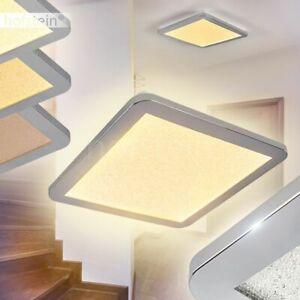 dimmbare LED Bade Wohn Schlaf Zimmer Flur Dielen Lampen eckig Bad Decken Leuchte