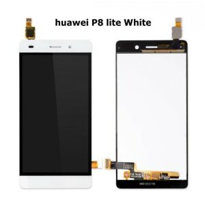 For-Huawei-P8-Lite-LCD-Display-Touch-Screen-Digitizer-White-Assembly-Replacement