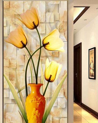 3D Warm flowers 869 WallPaper Murals Wall Print Decal Wall Deco AJ WALLPAPER