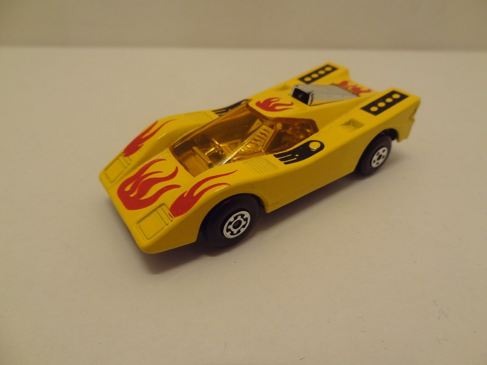 Matchbox Superfast NO7 HAIRY HUSTLER in RARE YELLOW with 'REVERSE WHEELS'  L@@K