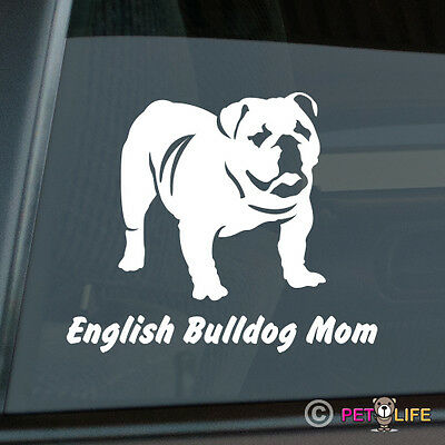 english Mastiff Mom Sticker Die Cut Vinyl