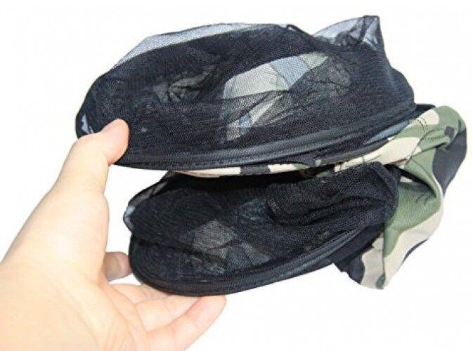 Unisex Outdoor Fishing Hat Cap, Summer Sunshade Sunshade Summer Beekeeping Anti-mosquito Hat ef0224