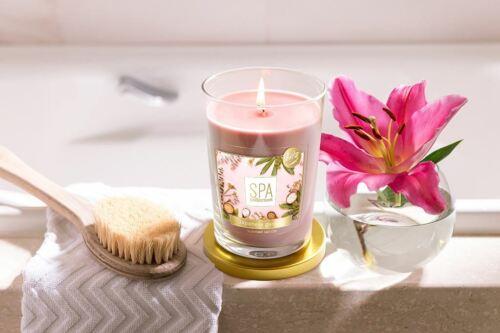 ~ Aura Fragrances® ~ Duftkerze im Glas ~ 340 g ~ Spa Edition