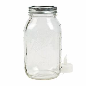 Quart-Ball-Mason-Jars-Craft-Supplies-12-Pieces