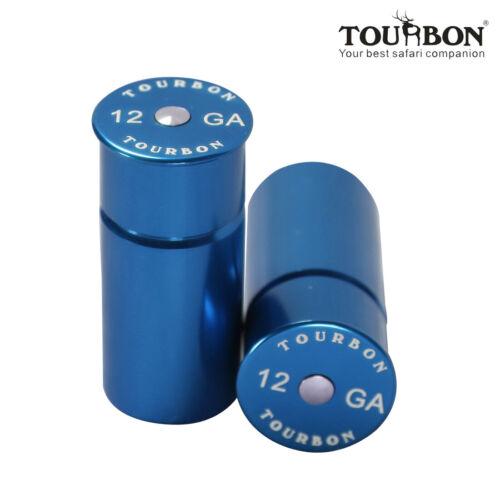 Tourbon Snap Caps 2 Set Dummy Rounds Training 12GA Gauge Shotgun Hunting Blue