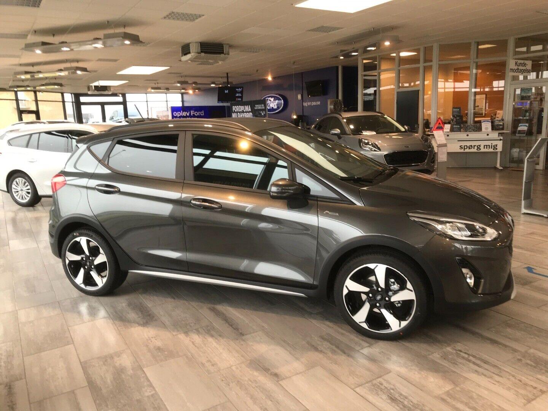 Ford Fiesta 1,0 EcoBoost mHEV Active - billede 3