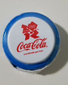 COCA-COLA-COKE-YOYO-OLYMPICS-BLUE-LONDON-2012-SEALED-IN-PLASTIC-PROMOTIONAL