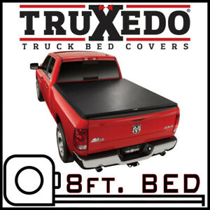 TruXedo TruXport Tonneau Cover for 2010-2018 Ram 2500 3500 8 FT. BED w/o Rambox